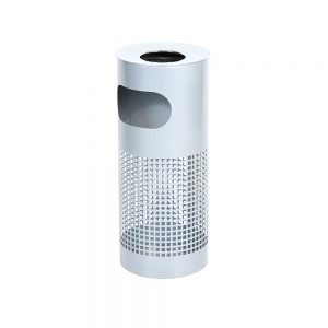Ashtray-Standing---Silver