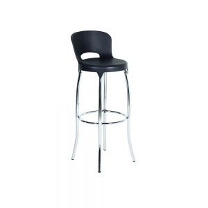 Asteroid-Bar-Stool---Black