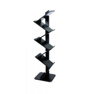 Brochure-Stand--Wooden-Black