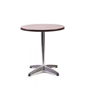 Cafe-Table-Round---Mahogany