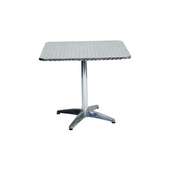 Cafe-Table-Square---Stainless-Steel