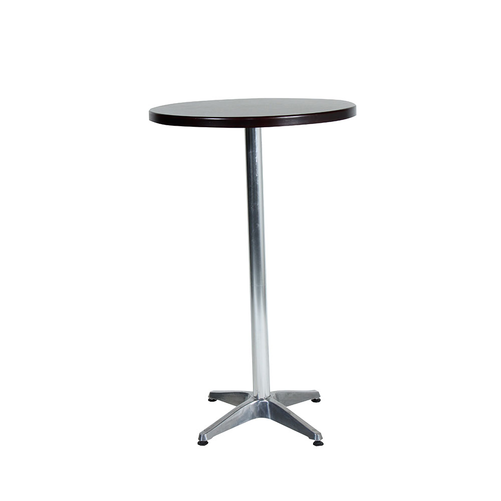 Cocktail table round mahogany unik furniture hire for Cocktail tables for sale in kzn