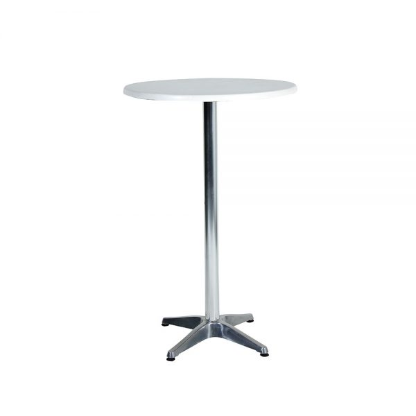 Cocktail-Table---Round---White