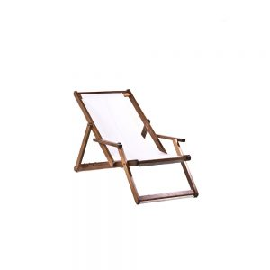 Deck-Chair---White