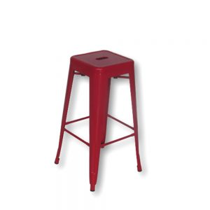 Paris-Barstool-Red