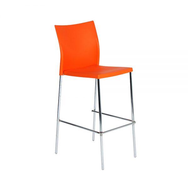 Regis-Bar-Stool---Orange