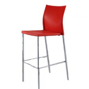 Regis-Bar-Stool---Red
