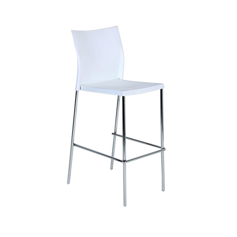 Regis Bar Stool White Unik Furniture Hire Durban  : Regis Bar Stool White from www.unik.co.za size 1000 x 1000 jpeg 32kB