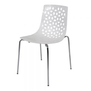 Spring--Chair-White