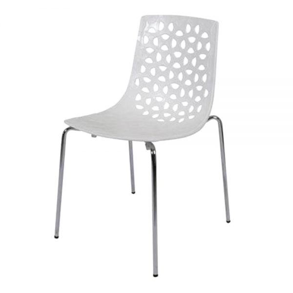 Spring--Chair-White