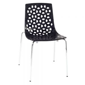 Spring-chair-black
