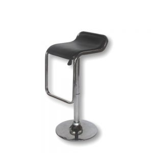 Waterfall-Bar-Stool---Black