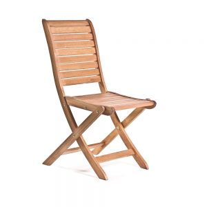 Wooden-Slatted-Chair